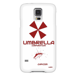 "Чехол для Samsung Galaxy S5 ""Umbrella Corporation"" - umbrella corporation, игра resident evil, bio hazard, resident evil"