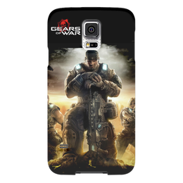 "Чехол для Samsung Galaxy S5 ""Gears of war"" - gears of war, маркус феникс, дельта"