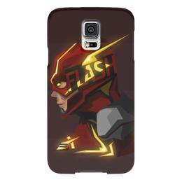 "Чехол для Samsung Galaxy S5 ""Flash"" - flash, комикс, молния, скорость, флеш"