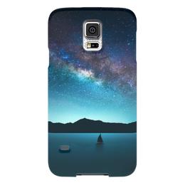 """Чехол для Samsung Galaxy S5 """"Взгляни на небо"""" - космос, наука, thespaceway, space, вселенная"""