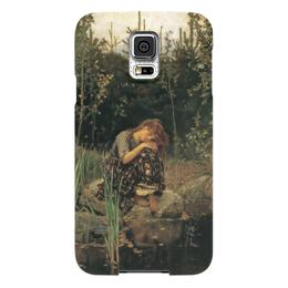 "Чехол для Samsung Galaxy S5 ""Алёнушка (картина Васнецова)"" - картина, васнецов"