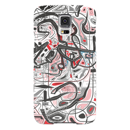 "Чехол для Samsung Galaxy S5 ""Mamewax"" - арт, узор, абстракция, фигуры, медитация"