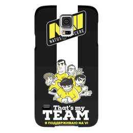 "Чехол для Samsung Galaxy S5 ""NA'VI"" - game, cs, кс, cs go"