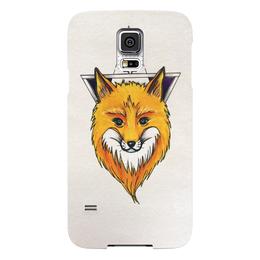 "Чехол для Samsung Galaxy S5 ""Лисичка"" - рисунок, природа, fox, лиса, лисичка"