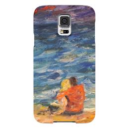 """Чехол для Samsung Galaxy S5 """"Надежда"""" - любовь, парень, море, двое, надежда"""