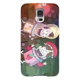 """Чехол для Samsung Galaxy S5 """"Гравити фолз"""" - мультики, gravity falls, гравити фолз, диппер, мэйбл"""