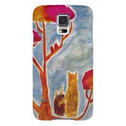 """Чехол для Samsung Galaxy S5 """"Счастье"""" - любовь, счастье, дружба, ежик"""
