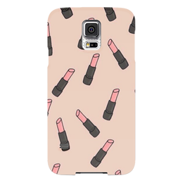"Чехол для Samsung Galaxy S5 ""Помада"" - для девушек, девушка, girl, помада, 2016"