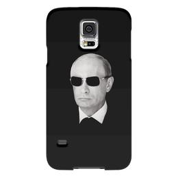 """Чехол для Samsung Galaxy S5 """"Путин – Всё путём"""" - black, владимир, россия, патриотизм, политика, путин, президент, putin, общество, все путем"""
