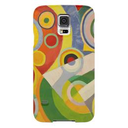 """Чехол для Samsung Galaxy S5 """"Абстракционизм (картина Делоне)"""" - картина, краски, искусство, масло, делоне"""