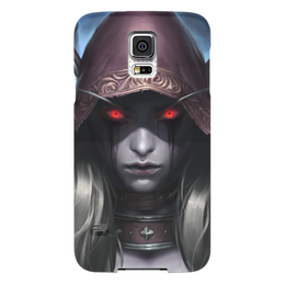 "Чехол для Samsung Galaxy S5 ""Sylvanas Windrunner"" - wow, world of warcraft, вов, варкрафт, сильвана"