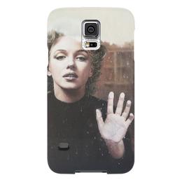 """Чехол для Samsung Galaxy S5 """"Мерилин"""" - ретро, монро, marilyn monroe, мэрилин монро"""