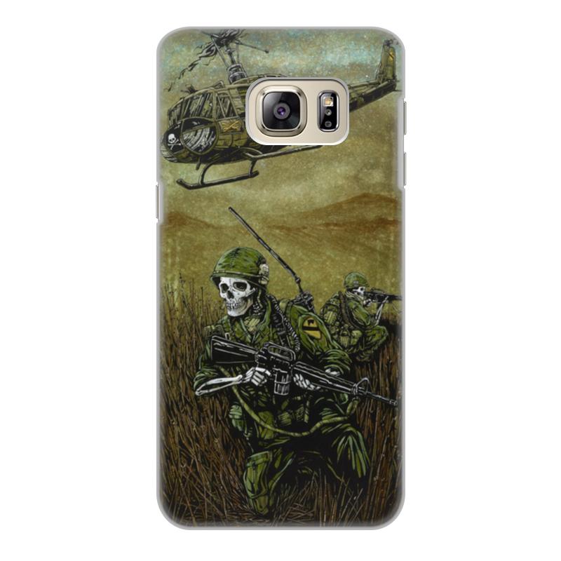 Чехол для Samsung Galaxy S6, объёмная печать Printio Война