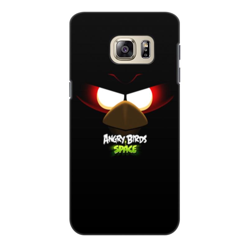 Чехол для Samsung Galaxy S6, объёмная печать Printio Space (angry birds) чехол для iphone 7 объёмная печать printio space angry birds