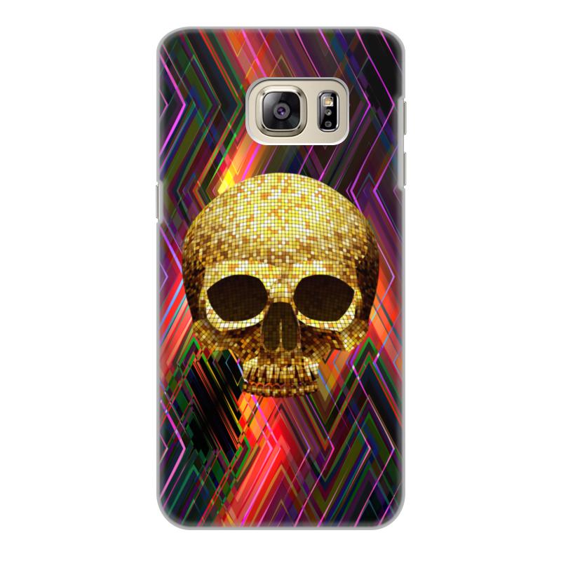 все цены на Чехол для Samsung Galaxy S6, объёмная печать Printio Черепушка онлайн