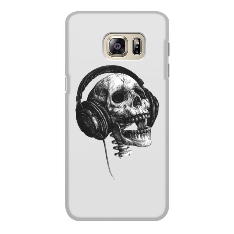 Чехол для Samsung Galaxy S6 объёмная печать Printio Музыка навсегда