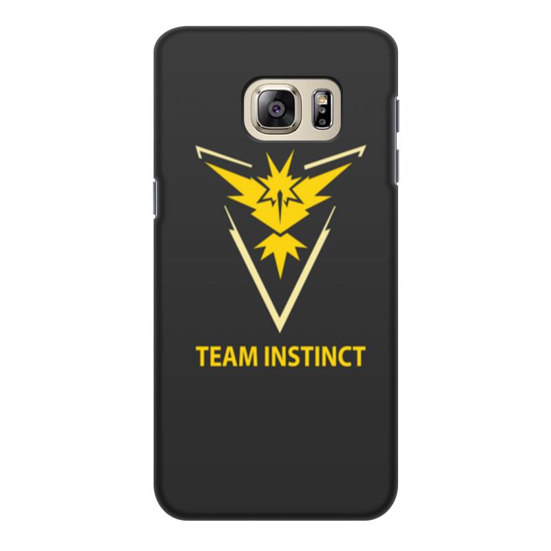 Чехол для Samsung Galaxy S6, объёмная печать Printio Team instinct чехол для samsung galaxy s2 printio pokemon go
