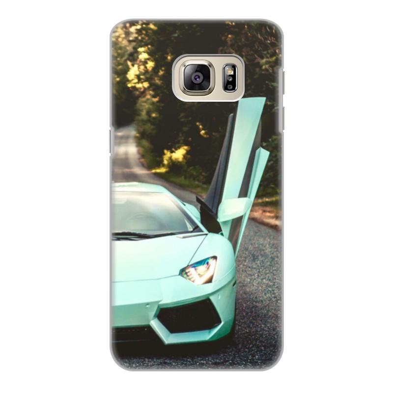 Чехол для Samsung Galaxy S6, объёмная печать Printio Lamborghini