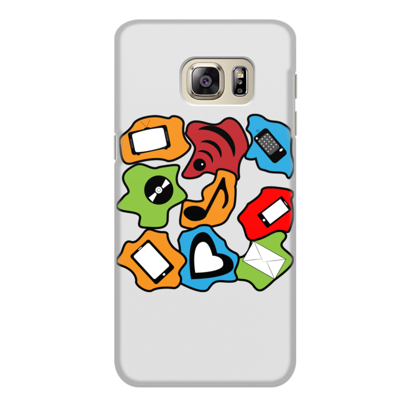 Чехол для Samsung Galaxy S6, объёмная печать Printio Современные гаджеты