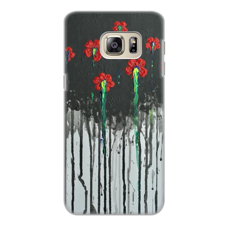 Чехол для Samsung Galaxy S6, объёмная печать Printio красные маки чехол для iphone 6 объёмная печать printio красные маки