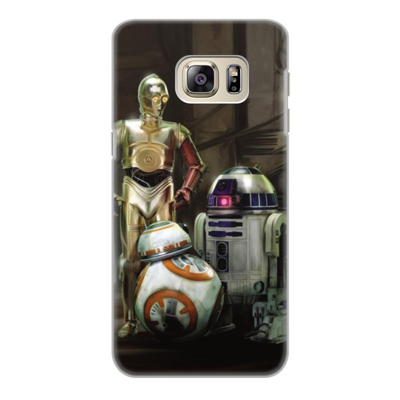 Чехол для Samsung Galaxy S6, объёмная печать Printio Star wars стоимость