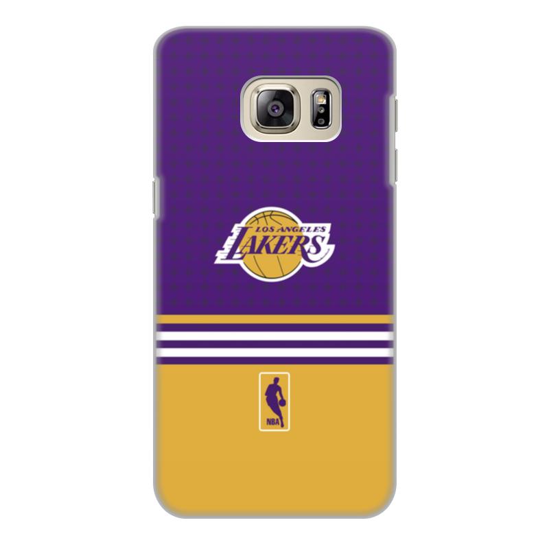 Чехол для Samsung Galaxy S6, объёмная печать Printio Lakers case pro