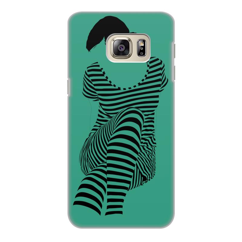 Чехол для Samsung Galaxy S6, объёмная печать Printio раздвоение личности