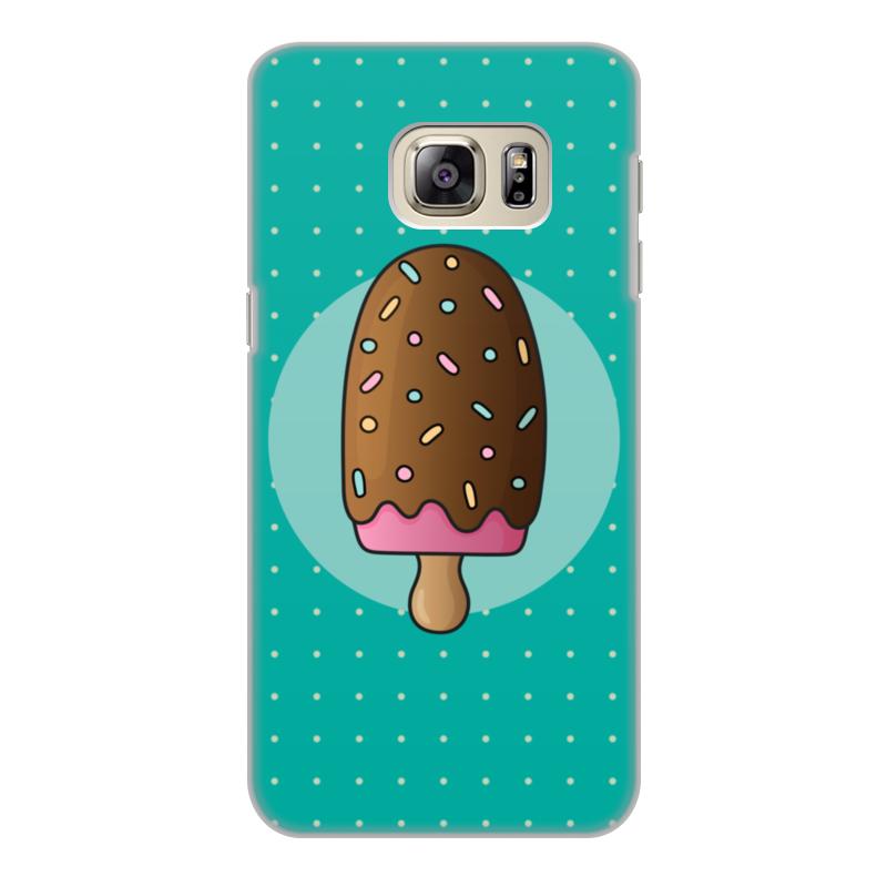 Чехол для Samsung Galaxy S6, объёмная печать Printio Мороженое