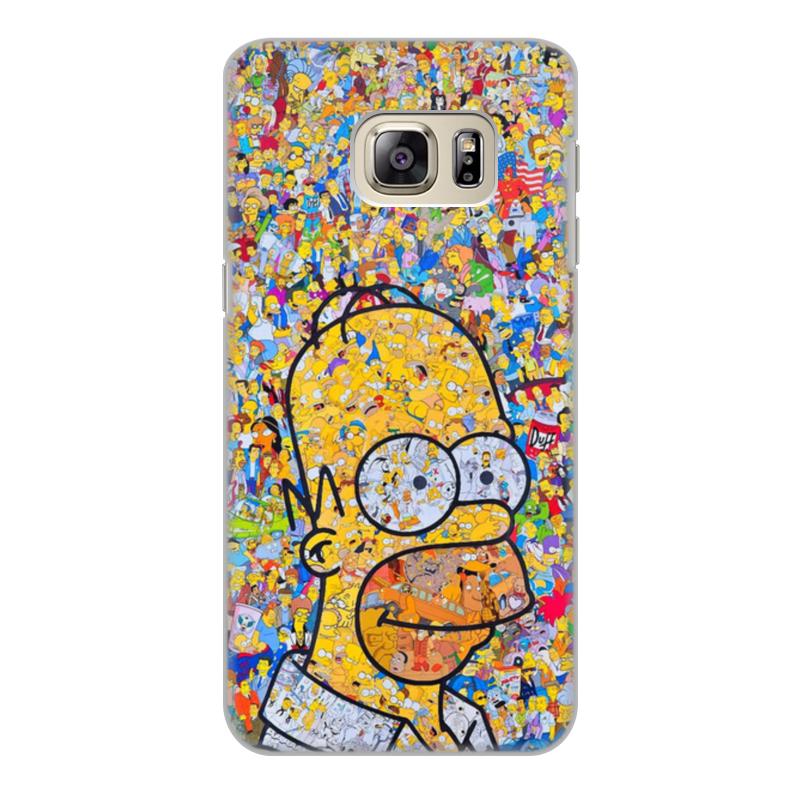 Чехол для Samsung Galaxy S6, объёмная печать Printio Симпсоны чехол для samsung galaxy s6 объёмная печать printio зимние забавы
