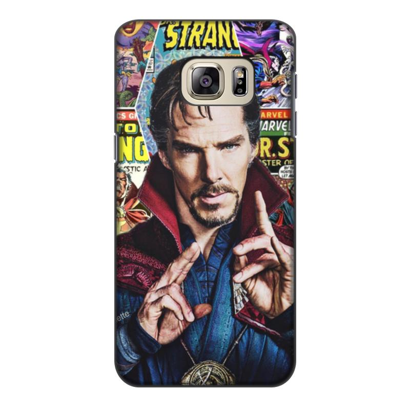 Чехол для Samsung Galaxy S6, объёмная печать Printio Marvel