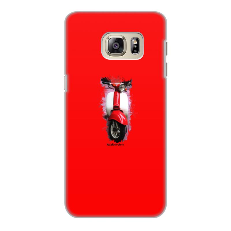 Чехол для Samsung Galaxy S6, объёмная печать Printio Скутер акустика на скутер по почте наложенным платежом