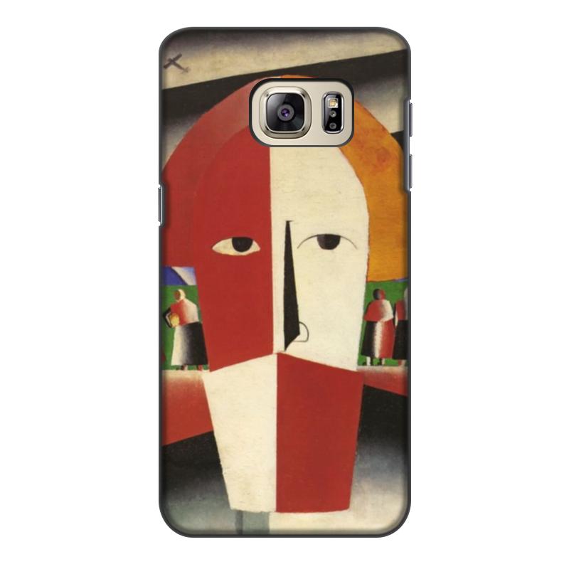 Чехол для Samsung Galaxy S6, объёмная печать Printio Голова крестьянина (казимир малевич) чехол для samsung galaxy s5 printio торс фигура с розовым лицом малевич
