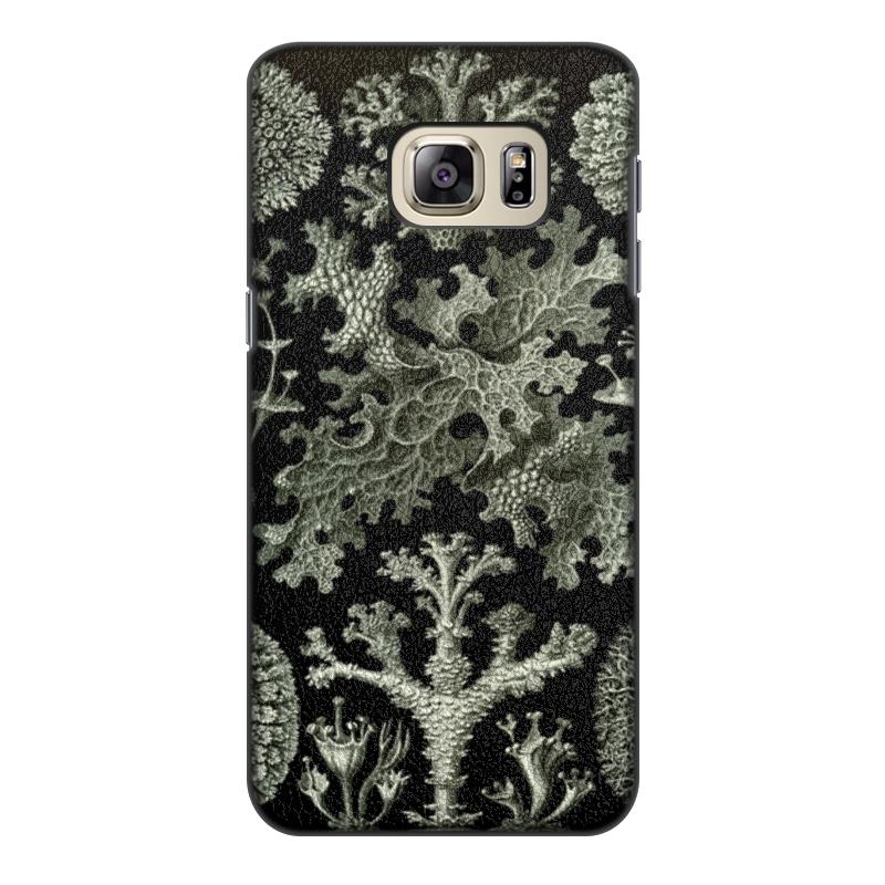 Чехол для Samsung Galaxy S6, объёмная печать Printio Лишайники (lichenes, ernst haeckel) чехол для samsung galaxy s7 edge силиконовый printio лишайники lichenes ernst haeckel