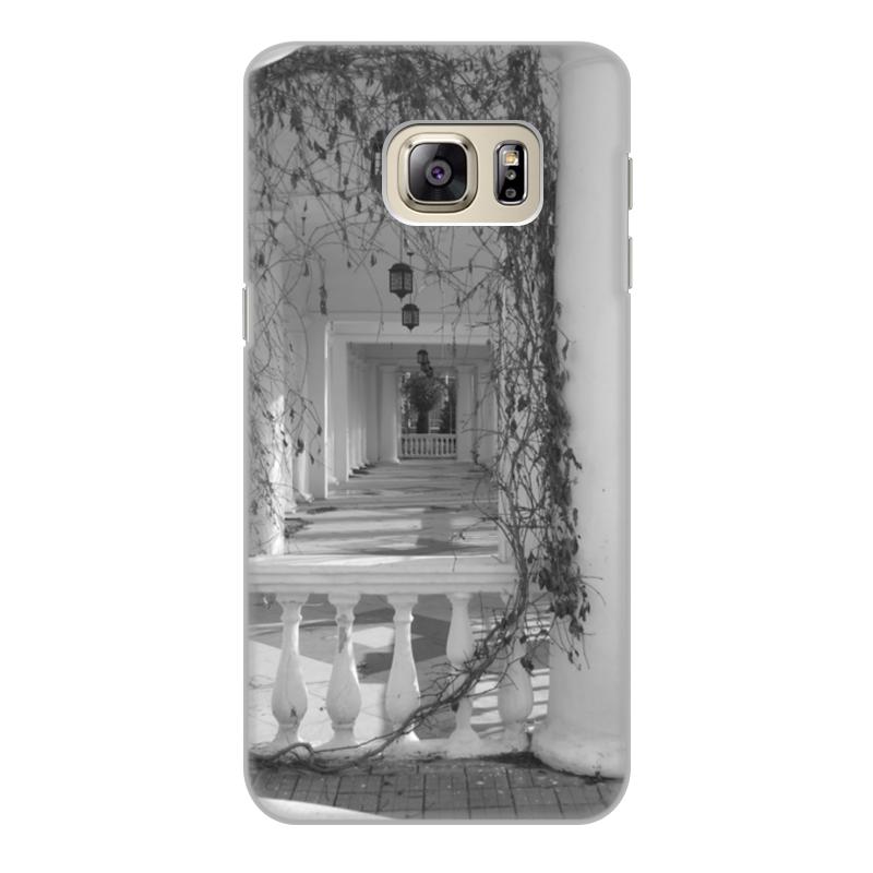 все цены на Чехол для Samsung Galaxy S6, объёмная печать Printio Осень онлайн