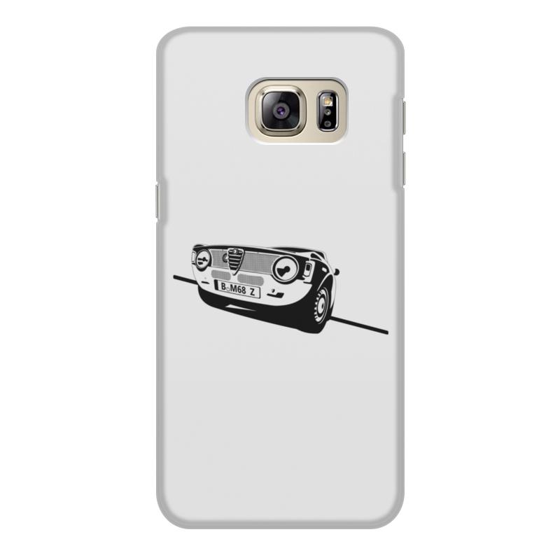 Чехол для Samsung Galaxy S6, объёмная печать Printio Retro alfa romeo racing чехол для iphone 8 plus объёмная печать printio retro alfa romeo racing
