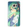 """Чехол для Samsung Galaxy S6, объёмная печать """"Miku Hatsune Sush"""" - аниме, hatsune, мику, бесконечное лето, miku"""