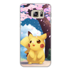"Чехол для Samsung Galaxy S6, объёмная печать ""Pikachu artwork"" - pikachu, pika"