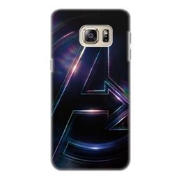"""Чехол для Samsung Galaxy S6, объёмная печать """"Мстители"""" - marvel, мстители, avengers, марвел, война бесконечности"""
