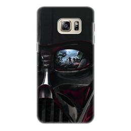 """Чехол для Samsung Galaxy S6, объёмная печать """"Звездные войны"""" - кино, фантастика, star wars, звездные войны, дарт вейдер"""