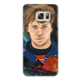 """Чехол для Samsung Galaxy S6, объёмная печать """"Артемий Панарин"""" - хоккей, нхл, сборная россия по хоккею, артемий панарин"""