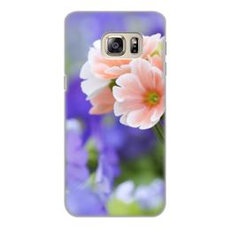 """Чехол для Samsung Galaxy S6, объёмная печать """"цветы"""" - n-a-v"""