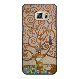 """Чехол для Samsung Galaxy S6, объёмная печать """"Древо жизни (Густав Климт)"""" - картина, климт, живопись"""
