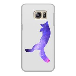 """Чехол для Samsung Galaxy S6, объёмная печать """"Space animals"""" - space, космос, fox, лиса, астрономия"""