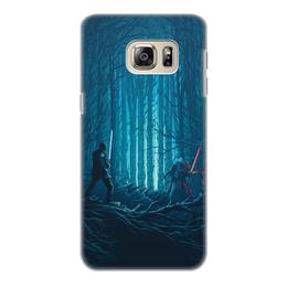 """Чехол для Samsung Galaxy S6, объёмная печать """"Звездные войны"""" - звездные войны, фантастика, кино, дарт вейдер, star wars"""