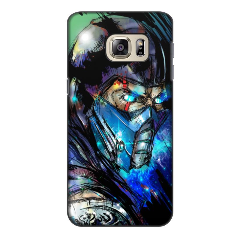 Чехол для Samsung Galaxy S6 Edge, объёмная печать Printio Mortal kombat x (sub-zero) чехол для samsung galaxy s6 edge объёмная печать printio mortal kombat scorpion