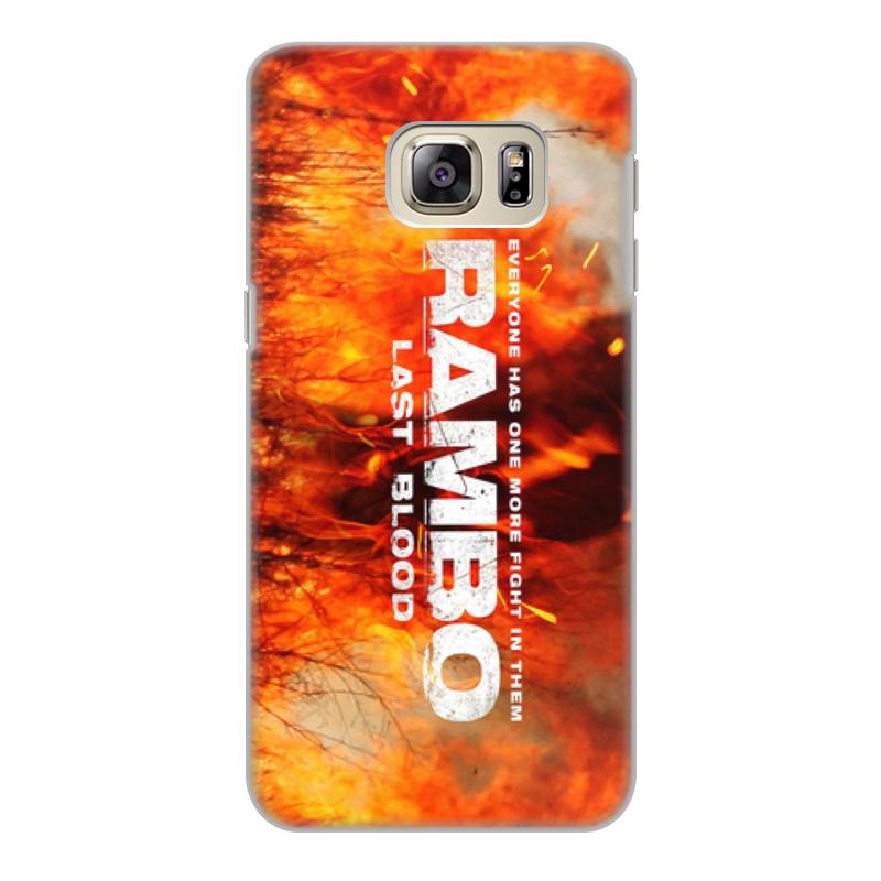 Printio Rambo чехол для samsung galaxy s6 edge объёмная печать printio без ума от цветов