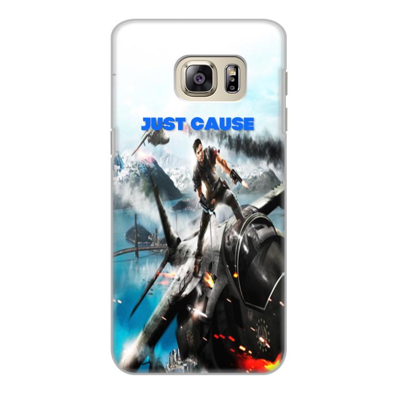 Чехол для Samsung Galaxy S6 Edge, объёмная печать Printio .just cause goowiiz синий samsung galaxy s6