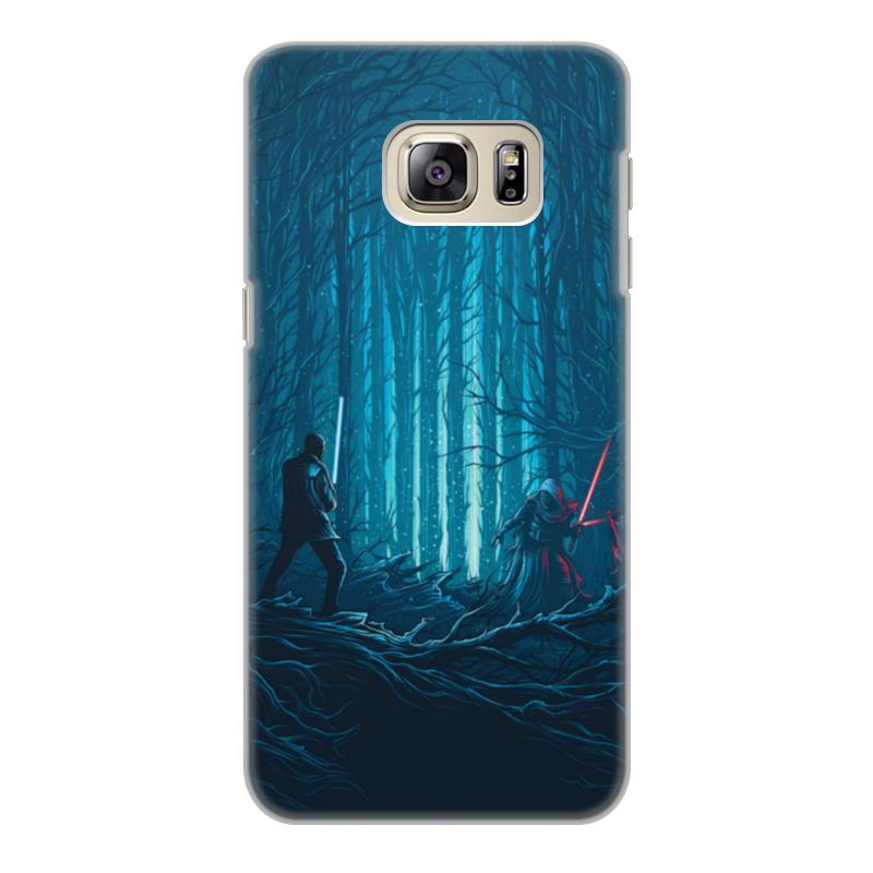 Чехол для Samsung Galaxy S6 Edge, объёмная печать Printio Звездные войны