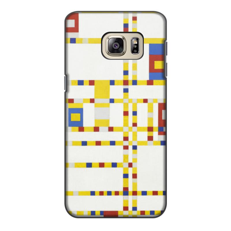 Чехол для Samsung Galaxy S6 Edge, объёмная печать Printio Бродвей буги-вуги (питер мондриан) чехол для samsung galaxy s5 printio бродвей буги вуги питер мондриан