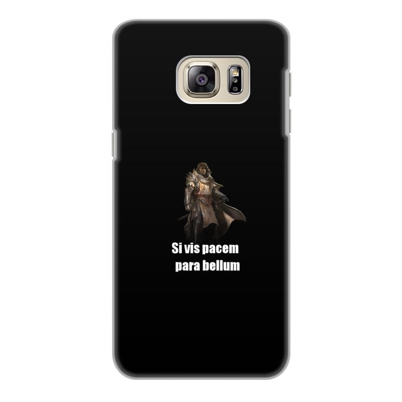 Чехол для Samsung Galaxy S6 Edge, объёмная печать Printio Хочешь мира - готовься к войне эфраим баух эффект бабочки израиль – иран от мира – к войне от дружбы к ненависти